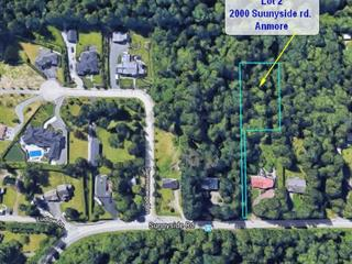 Lot for sale in Anmore, Port Moody, 2000 Sunnyside Road, 262423122 | Realtylink.org
