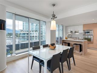 Apartment for sale in Coal Harbour, Vancouver, Vancouver West, 801 1499 W Pender Street, 262478052 | Realtylink.org