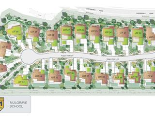 Lot for sale in Cypress Park Estates, West Vancouver, West Vancouver, 2875 Rodgers Creek Lane, 262445583 | Realtylink.org