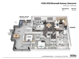 Townhouse for sale in South Marine, Vancouver, Vancouver East, 120 3133 Riverwalk Avenue, 262470760 | Realtylink.org