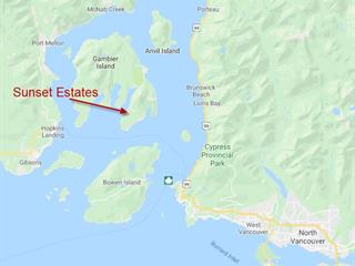 Lot for sale in Gambier Island, Sunshine Coast, Lot 7 Sunset Estates, 262479976 | Realtylink.org