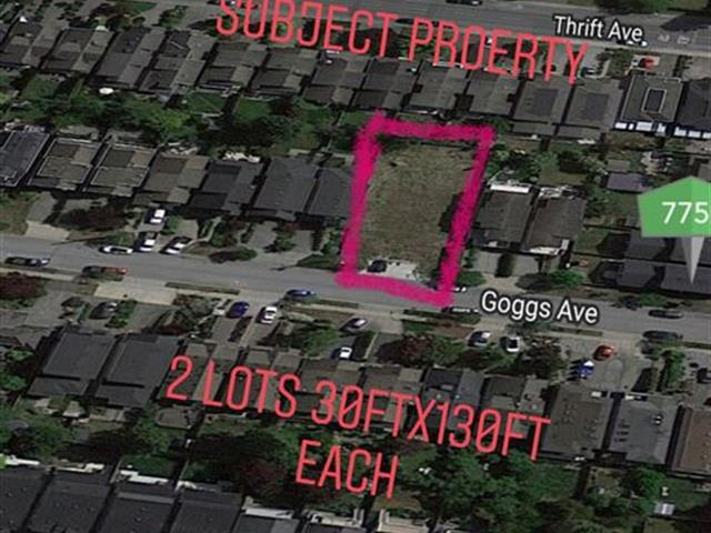 Lot for sale in White Rock, South Surrey White Rock, 15436 Goggs Avenue, 262480427 | Realtylink.org