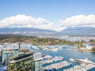 Apartment for sale in Coal Harbour, Vancouver, Vancouver West, 3802 1328 W Pender Street, 262463604 | Realtylink.org
