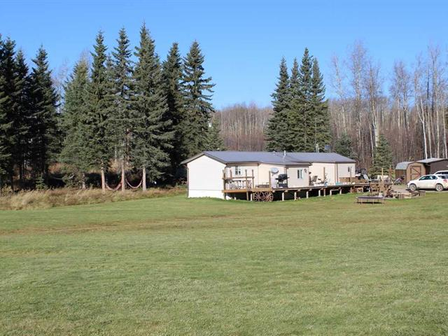 Manufactured Home for sale in Lakeshore, Charlie Lake, Fort St. John, 13606 248 Road, 262465600   Realtylink.org