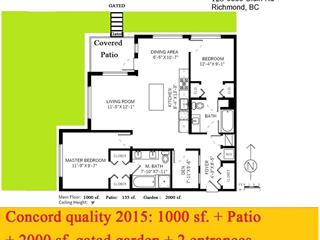 Apartment for sale in West Cambie, Richmond, Richmond, 128 9388 Odlin Road, 262408452 | Realtylink.org