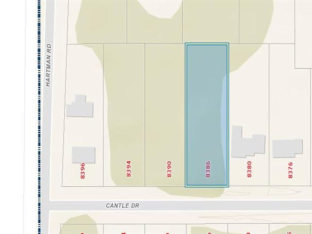Lot for sale in Western Acres, Prince George, PG City South, 8386 Cantle Drive, 262380863 | Realtylink.org