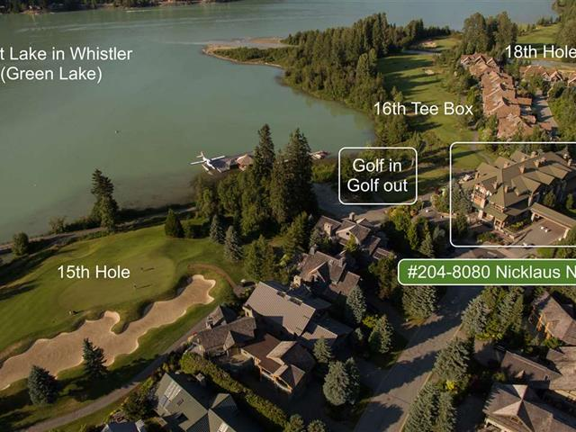 Apartment for sale in Green Lake Estates, Whistler, Whistler, 204 8080 Nicklaus North Boulevard, 262503509 | Realtylink.org