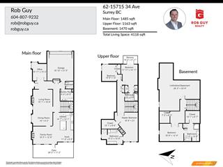 Townhouse for sale in Morgan Creek, Surrey, South Surrey White Rock, 62 15715 34 Avenue, 262475852 | Realtylink.org