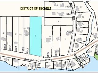Lot for sale in Sechelt District, Sechelt, Sunshine Coast, Lot S Sunshine Coast Highway, 262450003 | Realtylink.org