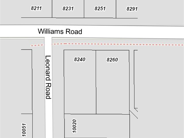 Lot for sale in South Arm, Richmond, Richmond, 8240 Williams Road, 262471388 | Realtylink.org