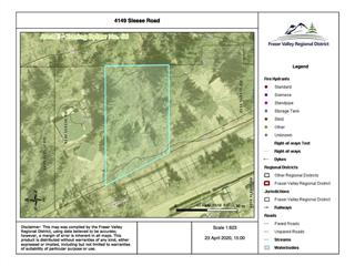 Lot for sale in Chilliwack River Valley, Chilliwack, Sardis, 4149 Slesse Road, 262471274 | Realtylink.org