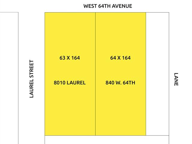 Lot for sale in Marpole, Vancouver, Vancouver West, 840 W 64th Avenue, 262462182 | Realtylink.org