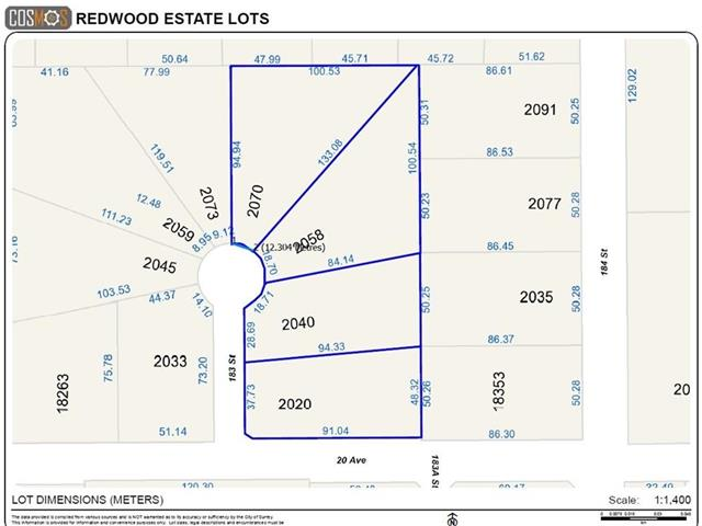 Lot for sale in Hazelmere, Surrey, South Surrey White Rock, 2070 183 Street, 262464217 | Realtylink.org