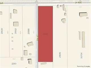 Lot for sale in Brookswood Langley, Langley, Langley, Lt.1 24 Avenue, 262454469 | Realtylink.org