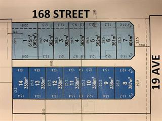 Lot for sale in Pacific Douglas, Surrey, South Surrey White Rock, Lt.6 168 Street, 262461876 | Realtylink.org