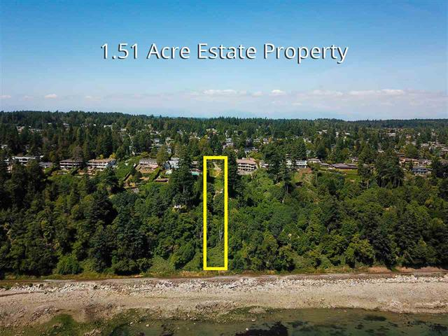 Lot for sale in White Rock, South Surrey White Rock, 13808 Marine Drive, 262403403 | Realtylink.org