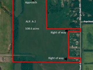 Lot for sale in Fort St. John - Rural W 100th, Fort St. John, Fort St. John, Lot 2 244 Road, 262441115 | Realtylink.org
