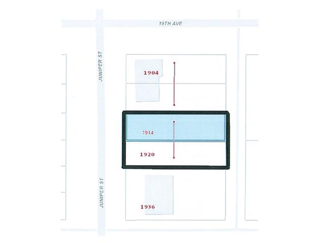 Lot for sale in Connaught, Prince George, PG City Central, 1914-1920 Juniper Street, 262429238 | Realtylink.org