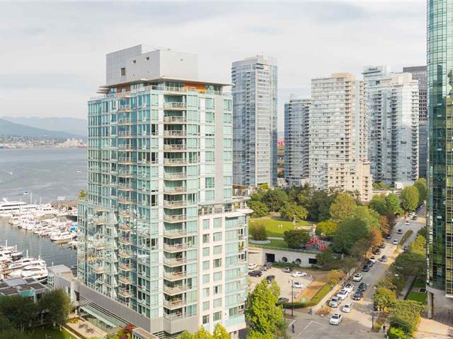 Apartment for sale in Coal Harbour, Vancouver, Vancouver West, 1402 1499 W Pender Street, 262441141 | Realtylink.org