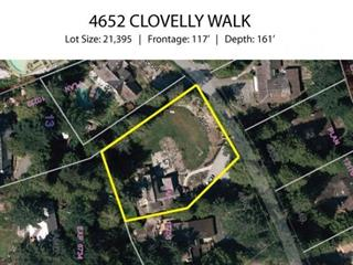 Lot for sale in Caulfeild, West Vancouver, West Vancouver, 4652 Clovelly Walk, 262480422   Realtylink.org
