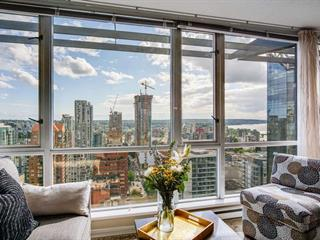 Apartment for sale in Downtown VW, Vancouver, Vancouver West, 3205 1068 Hornby Street, 262493454 | Realtylink.org