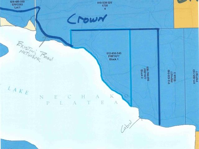 Recreational Property for sale in South Francois, Burns Lake, Burns Lake, Lt 1 & 2 Takysie Point Road, 262450521 | Realtylink.org