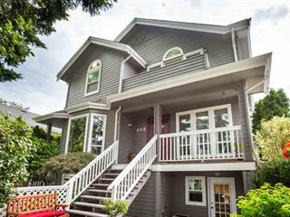 Townhouse for sale in Cambie, Vancouver, Vancouver West, 248 W 16th Avenue, 262505183 | Realtylink.org