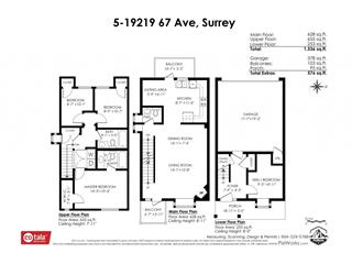 Townhouse for sale in Clayton, Surrey, Cloverdale, 5 19219 67 Avenue, 262502139 | Realtylink.org