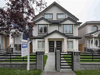 1/2 Duplex for sale in South Vancouver, Vancouver, Vancouver East, 870 E 58th Avenue, 262493453   Realtylink.org