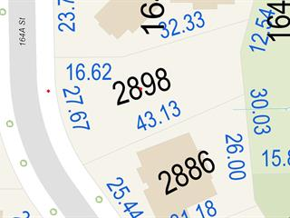 Lot for sale in Grandview Surrey, Surrey, South Surrey White Rock, 2898 164a Street, 262491861   Realtylink.org