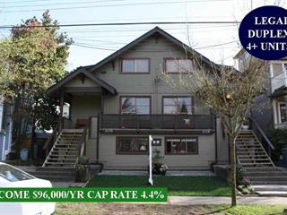 House for sale in Hastings, Vancouver, Vancouver East, 2128 E Pender Street, 262492767 | Realtylink.org