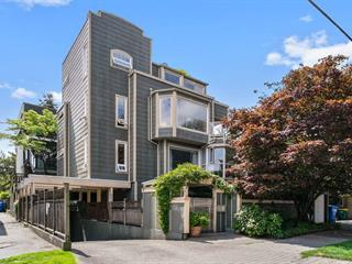 Townhouse for sale in Kitsilano, Vancouver, Vancouver West, 201 2252 W 5th Avenue, 262497780 | Realtylink.org