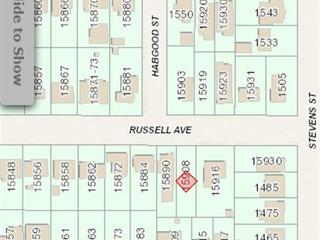 Lot for sale in White Rock, South Surrey White Rock, 15908 Russell Avenue, 262496507 | Realtylink.org