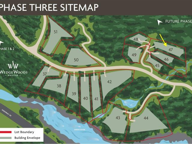 Lot for sale in WedgeWoods, Whistler, Whistler, 9153 Wedge Creek Rise, 262473722 | Realtylink.org