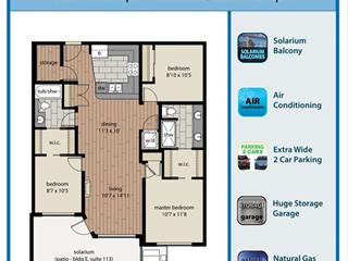 Apartment for sale in Willoughby Heights, Langley, Langley, 413 20325 85 Avenue, 262457013   Realtylink.org