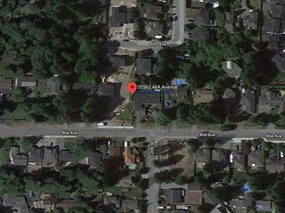 Lot for sale in Langley City, Langley, Langley, 20563 46a Avenue, 262480836   Realtylink.org
