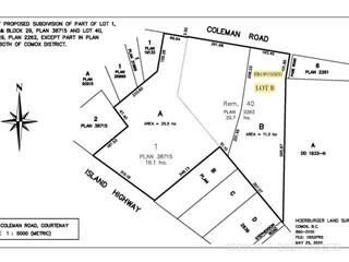 Lot for sale in Courtenay, New Westminster, Lt B Coleman Road, 469090 | Realtylink.org