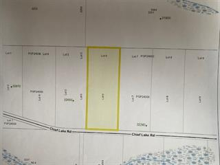 Lot for sale in Nukko Lake, Prince George, PG Rural North, Lot 6 Chief Lake Road, 262486499 | Realtylink.org