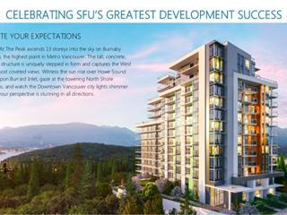 Townhouse for sale in Simon Fraser Univer., Burnaby, Burnaby North, Th1 8940 University Crescent, 262489599 | Realtylink.org