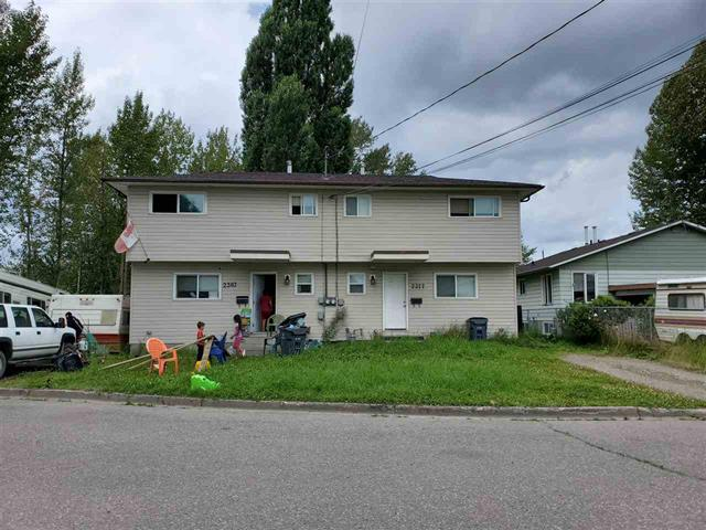Duplex for sale in VLA, Prince George, PG City Central, 2377-2383 Quince Street, 262517045 | Realtylink.org