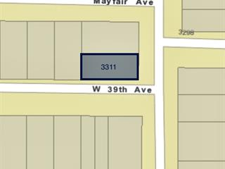 Lot for sale in Dunbar, Vancouver, Vancouver West, 3311 W 39th Avenue, 262531603 | Realtylink.org