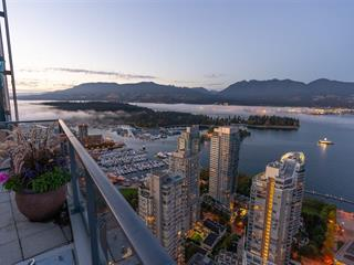 Apartment for sale in Coal Harbour, Vancouver, Vancouver West, 1807 1189 Melville Street, 262528101 | Realtylink.org