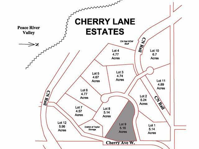 Lot for sale in Taylor, Fort St. John, Lot 9 Cherry Lane, 259586139   Realtylink.org