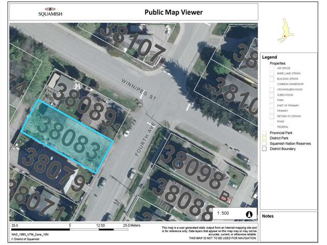 Lot for sale in Downtown SQ, Squamish, Squamish, 38083 Fourth Avenue, 262515342 | Realtylink.org