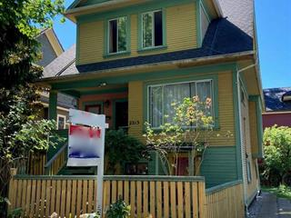 House for sale in Mount Pleasant VW, Vancouver, Vancouver West, 2213 Ontario Street, 262505695   Realtylink.org