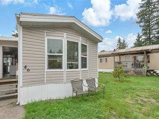 Manufactured Home for sale in Campbell River, Campbell River West, 46 2520 Quinsam Rd, 471862 | Realtylink.org