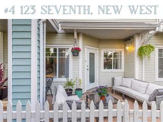 Townhouse for sale in Uptown NW, New Westminster, New Westminster, 4 123 Seventh Street, 262519987 | Realtylink.org