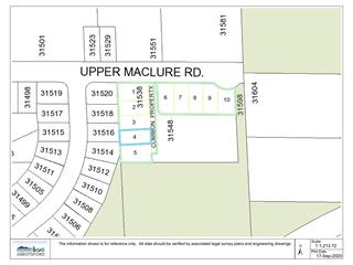 Lot for sale in Abbotsford West, Abbotsford, Abbotsford, Lt.4 31538 Upper Maclure Road, 262521145 | Realtylink.org