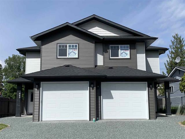 1/2 Duplex for sale in Central, Prince George, PG City Central, 661 Carney Street, 262510596 | Realtylink.org