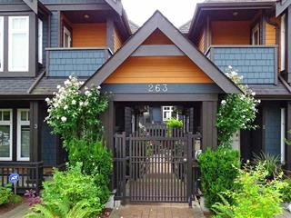 Townhouse for sale in Lower Lonsdale, North Vancouver, North Vancouver, 7 263 E 5th Street, 262516329 | Realtylink.org